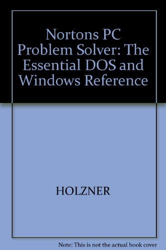 Peter Norton's PC Problem Solver: Peter Norton