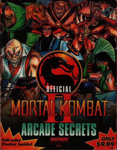 9781566861854: Mortal Kombat II: Official Arcade Secrets (Official Strategy Guides)