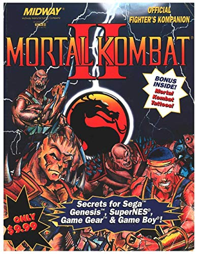 Mortal Kombat II: Official Fighter's Kompanion (Brady Games): BradyGames