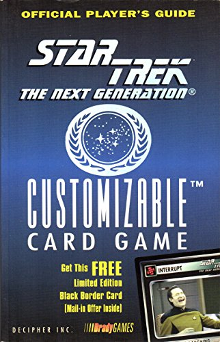 Official Pocket Player's Guide to Star Trek: The Next Generation CardGa (Star Trek Next Generation (