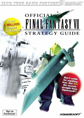 Official Final Fantasy VII Strategy Guide, Playstation: Cassady, David