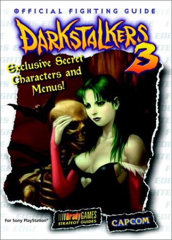 9781566868525: Darkstalkers 3 Official Strategy Guide (Brady Games Strategy Guides)