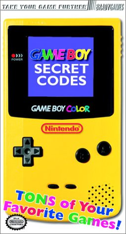 9781566869027: GameBoy Secret Codes (Bradygames : Take Your Game Further)