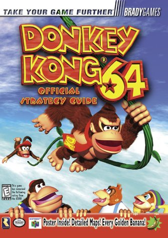 9781566869096: Donkey Kong 64 Official Strategy Guide (Official Strategy Guides)