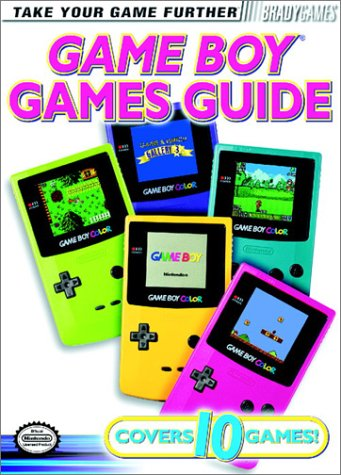 9781566869232: GameBoy Official Games Guide (Official Strategy Guides)