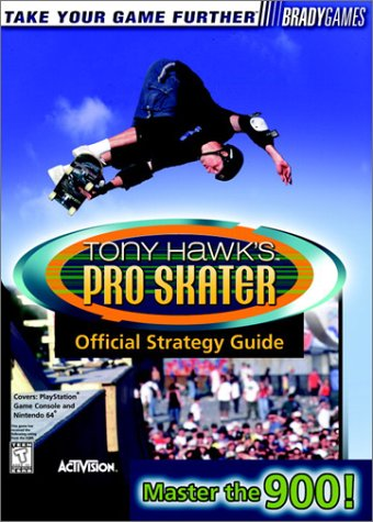 9781566869454: Tony Hawk's Pro Skater Official Strategy Guide (Brady Games)