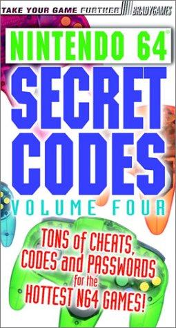 Secret Codes for Nintendo 64, Volume 4 (Brady Games): Owen, Michael