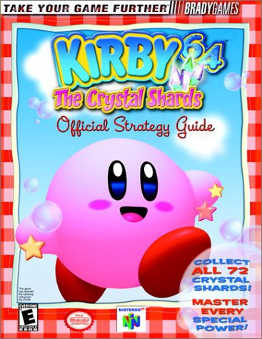 Kirby 64 The Crystal Shards Official Strategy Guide (Video Game Books): BradyGames