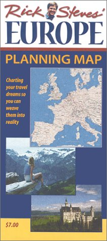 9781566912624: Rick Steves Europe Planning Map