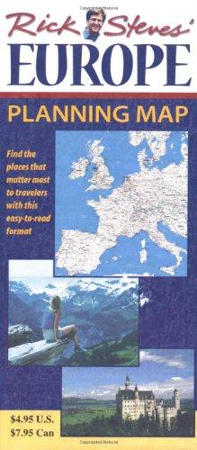 9781566912952: Rick Steves' Europe Planning Map