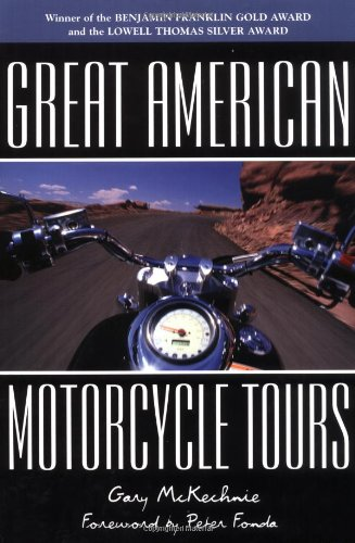 9781566914482: DEL-Great American Motorcycle Tours