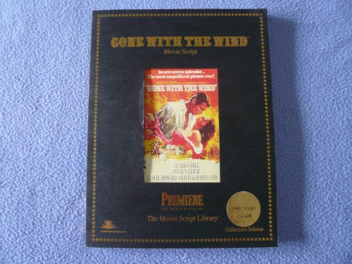 Gone with the Wind; Movie Script, Screenplay: Mitchell, Margaret /