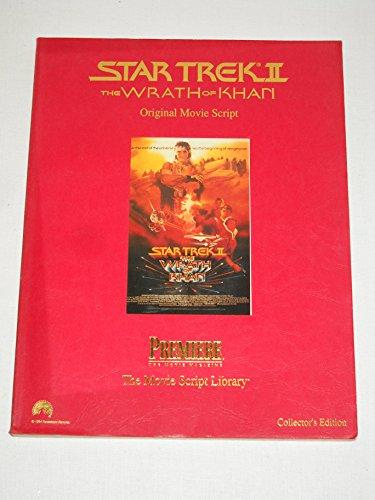 Star Trek Wrath of Khan Movie Script: Sowards, Jack B