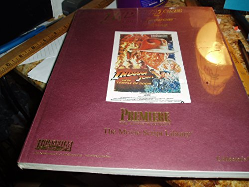 9781566933193: Indiana Jones and the Temple of Doom Original Movie Script Library Collector's Edition