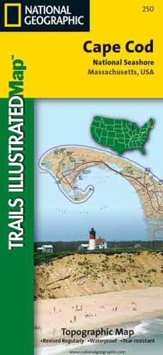 9781566950435: National Geographic Maps Trails Illustrated: Cape Cod National Seashore, Massachusetts (National Park)