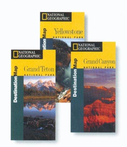 9781566950589: National Geographic Destination Maps Grand Teton (Destination Maps for American National Parks)