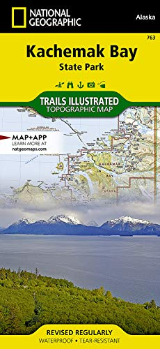 9781566950749: Kachemak Bay State Park (National Geographic Trails Illustrated Map)