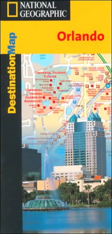 9781566950848: National Geographic Destination Map, Orlando: Florida (Destined to Be the Best-Selling Travel Map Series)