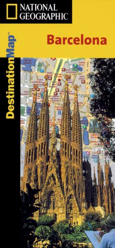 9781566950879: Barcelona: Destination City Travel Maps (National Geographic)