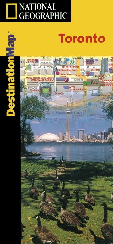 Toronto Destination Map (National Geographic): National Geographic