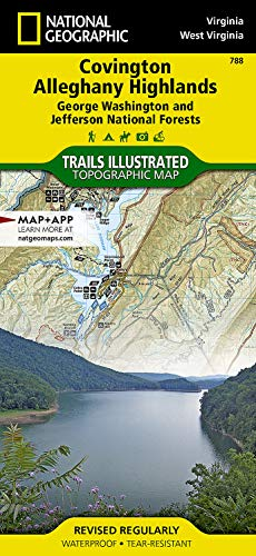 Covington Alleghany Highlands (George Washington and Jefferson: National Geographic Maps