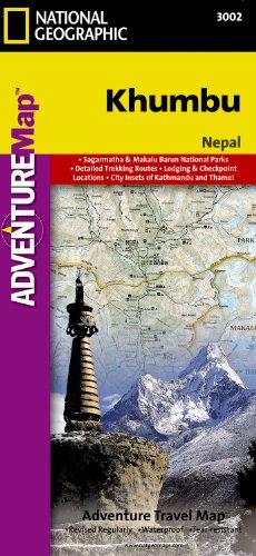 9781566951241: Trails Illustrated - Adventure Map-Khumbu, Nepal - Adventure Map (National Geographic Adventure Map)