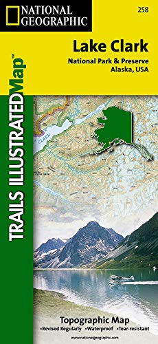 9781566951524: Lake Clark National Park and Preserve (National Geographic Trails Illustrated Map)