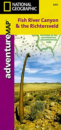 9781566951661: Fish River Canyon and the Richtersveld [South Africa and Namibia] (National Geographic Adventure Map)