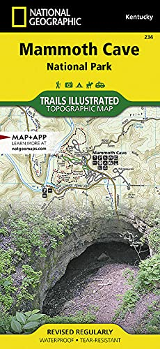 Mammoth Cave National Park (National Geographic Trails Illustrated Map): National Geographic Maps -...