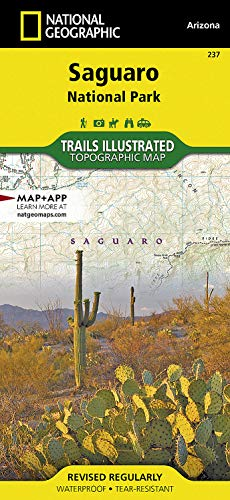 Saguaro National Park (National Geographic Trails Illustrated Map): National Geographic Maps - ...