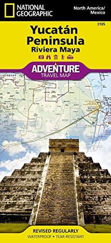 Northern Yucatan/Maya Sites, Mexico (Folded): Rand McNally
