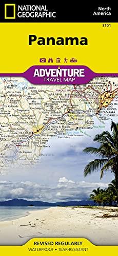 9781566952606: Panama: Travel Maps International Adventure Map: NG.AM3101 [Idioma Inglés]