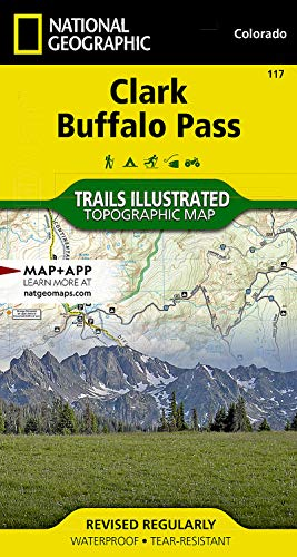 Clark, Buffalo Pass (National Geographic Trails Illustrated Map): National Geographic Maps - Trails...