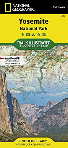 Yosemite National Park: Trails Illustrated National Parks
