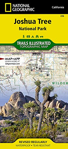 9781566953009: Map: Joshua Tree National Park (National Geographic Trails Illustrated Map (226))