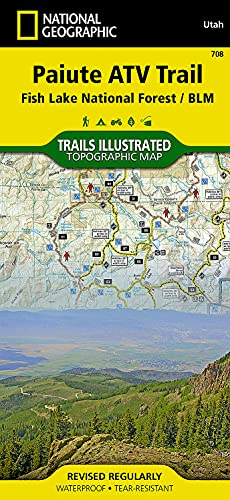 9781566953085: Paiute Atv Trail: Trails Illustrated Other Rec. Areas (National Geographic Trails Illustrated Map)