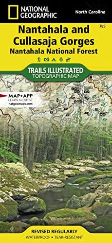 9781566953122: Nantahala and Cullasaja Gorges [Nantahala National Forest] (National Geographic Trails Illustrated Map)