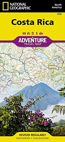 9781566953146: Costa Rica Adv. Ng: Travel Maps International Adventure Map (National Geographic Adventure Map)