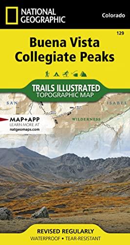 9781566953252: Buena Vista, Collegiate Peaks (National Geographic Trails Illustrated Map)