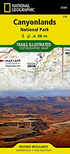 Canyonlands National Park (National Geographic Trails Illustrated Map)