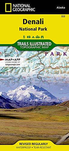 9781566953283: National Geographic Denali: National Park & Preserve Alaska, USA : Trails Illustrated Map.