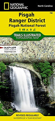 9781566953320: Pisgah Ranger District [Pisgah National Forest] (National Geographic Trails Illustrated Map)