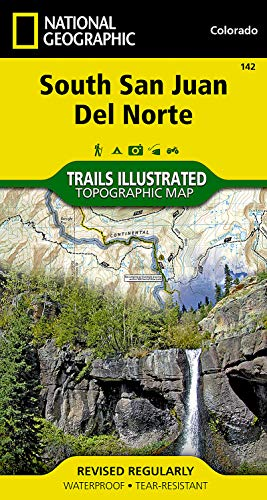 9781566953412: South San Juan Wilderness (National Geographic Trails Illustrated Map)