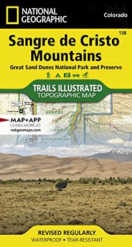 9781566953511: Sangre de Cristo Mountains Great Sand Dunes National Park & Preserve Colorado