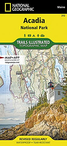 Acadia National Park: Trails Illustrated National Parks