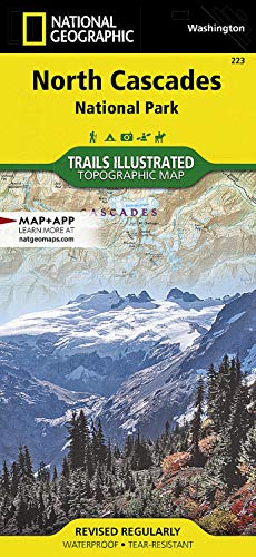 North Cascades National Park: Trails Illustrated National Parks