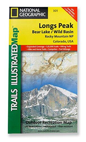 9781566953603: Longs Peak, Colorado Trail Map