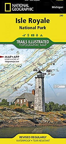 9781566953672: Isle Royale National Park (National Geographic Trails Illustrated Map)
