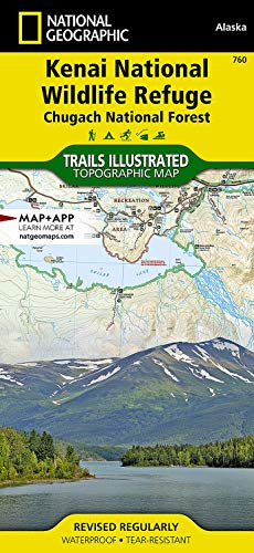 9781566953733: National Geographic Trails Illustrated Map Kenai Nwr / Chugach National Forest: Alaska