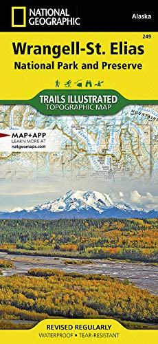 9781566953825: Wrangell-St. Elias National Park and Preserve (National Geographic Trails Illustrated Map)